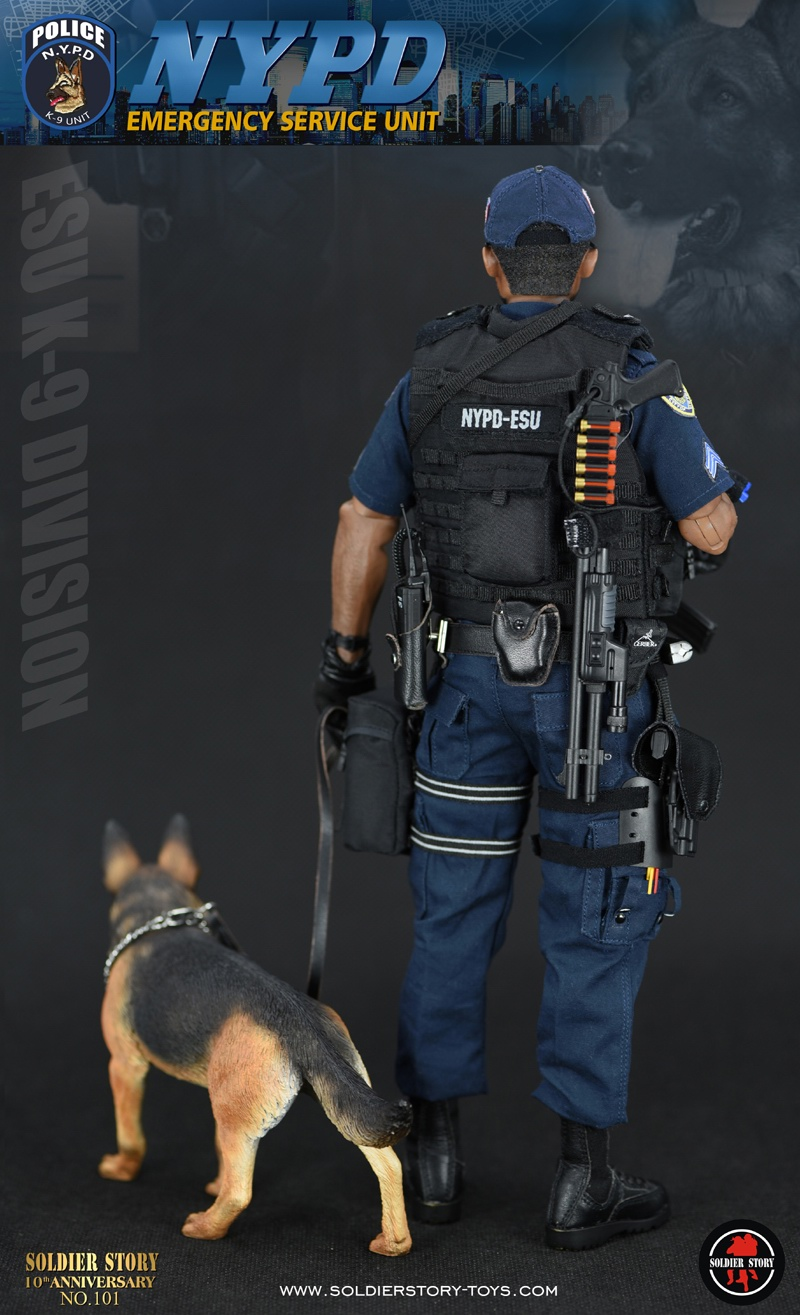 Emergency Service Unit Soldier Story 1 6 Nypd Esu K 9